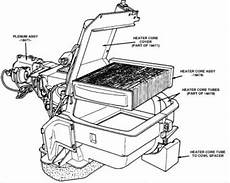 1989 Ford F250 Heater Core How To I Replace The Heater