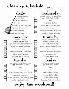 Cleaning House Schedule Chart That S Just Crazy Person Talk Scheduled Cleaning