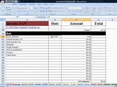 Daily Expense Tracker Excel Tracking Income In Daily Expense Tracking Excel Budgeting