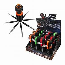 Spidey Light Spidey 8 In 1 Screwdriver With 6 Led Light Cb