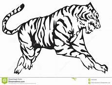 de dierenriem de tijger vector illustratie