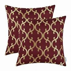 pack of 2 calitime cushion covers throw pillow cases shel