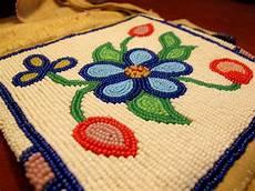 beadwork cree beadwork cree or blackfoot style pipebag northvoice