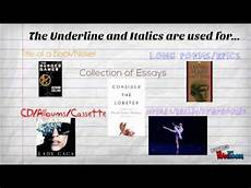 Punctuation Of Titles Punctuation In Titles By Vincent L Youtube