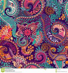 Paisley Design Images Paisley Seamless Pattern Stock Vector Illustration Of