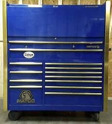 matco tool chest side cabinet ebay