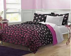 new pink hearts bedding comforter sheet set