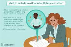 Character Letter Example Character Reference Letter Example And Writing Tips