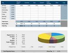 Employee Time Tracking Excel 6 Free Timesheet Templates For Tracking Employee Hours