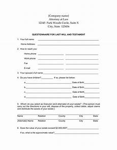 Free Downloadable Will Forms Last Will And Testament Form Download Free Documents For