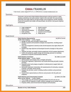 Pr Resume Objective 12 13 Public Relations Resume Objectives