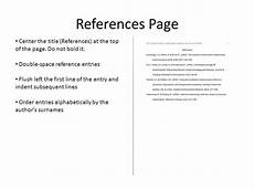 Reference Page For Essay What Is Apa Reference Page