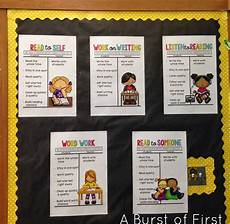 I Charts Daily 5 Anchor Charts A Burst Of First