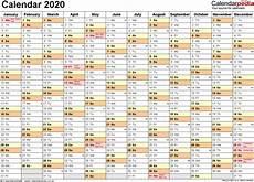 Daily Calendar 2020 Excel Daily Calendar 2020 Daily Calendar Printable 2020