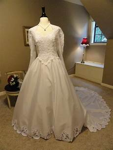 dresses by reserved house of bianchi 1980s wedding dress with lace
