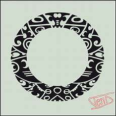Polynesian Design Circle Maori Polynesian Circle Designs 187 Ideas