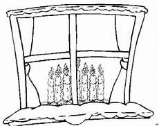 Malvorlage Weihnachten Fenster Kerzen Hinter Fenster Ausmalbild Malvorlage Nordisch