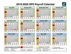 2020 Payroll Calendar Template 2019 2020 Sps Payroll Calendar By Springfield Flipsnack