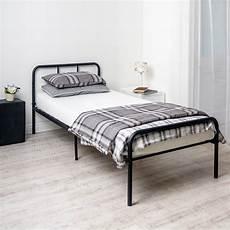 home treats black metal curved bed frame single home