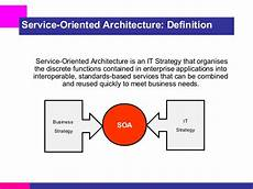 Service Oriented Person Definition Overview Of Soa And The Role Of Esb Osb