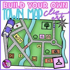 Clipart Maps Build Your Own Town Map Clip Art