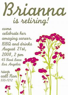 Retirement Invitations Online Free Printable Retirement Party Invitations Templates