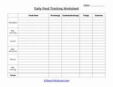 Meal Tracking Worksheet 7 Best Images Of Printable Daily Food Log Sheet