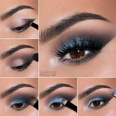 Light Blue Eyeshadow Tutorial 15 Great Makeup Tutorials For A Night Out