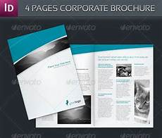 4 Pages Brochure 30 Modern Business Brochure Templates Brochure Idesignow