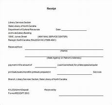 Receipt Template Word Document Receipt Template Doc For Word Documents In Different Types