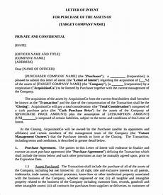 Sample Letter Of Intent Doc 14 Purchase Letter Of Intent Templates Doc Pdf Free