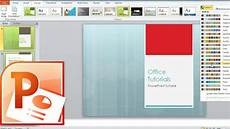 Power Point Slide Themes How To Change Slides Design Theme Colors Fonts And