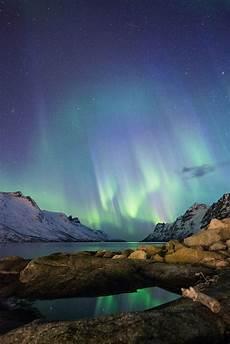 Solar Northern Lights Solar Storm Solar Northern Lights Night