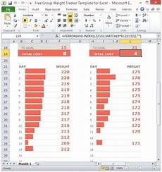 Weight Tracking Spreadsheet Free Group Weight Tracker Template For Excel