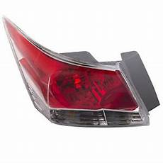2012 Honda Accord Light Removal Light Rear Left Driver Assembly Fits 2008 2012 Honda