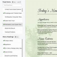 Making A Menu Online Imenupro 183 How To Make A Restaurant Menu Change Your Menu