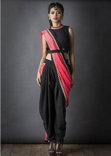 Dhoti Saree Design Swap It Wrap It Drape It Trendy Tutorial On