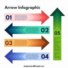 Infographic Arrow Arrows Infographic Vector Free Download