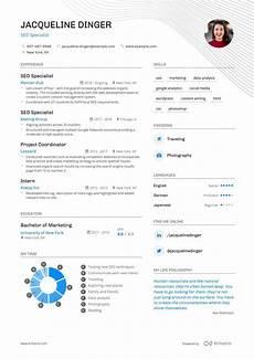 Resume Content Tips Top Seo Specialist Resume Examples Expert Tips Enhancv Com