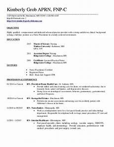 Nurse Practitioner Resume Family Nurse Practitioner Resume