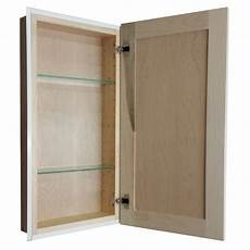 wg wood products 29 5 quot x 15 5 quot recessed medicine cabinet