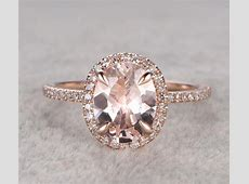 Limited Time Sale: 1.25 Carat Peach Pink Morganite and