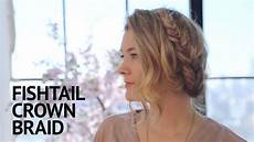 bob peruukki fishtail crown braid check out the tutorial on