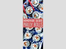 Homemade Philadelphia Roll   Recipe   Peas and Crayons