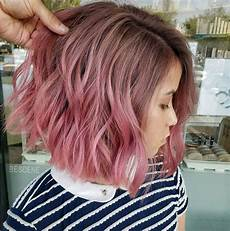 Black To Light Pink Ombre Hair 35 Short Ombre Hairstyles For 2018 Best Ombre