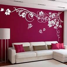 decorazioni murali da letto floreale con farfalle adesivi murali creativit 224 nel