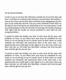 Love Letter To My Husband Sample Free 6 Sample Love Letters To My Husband In Ms Word Pdf