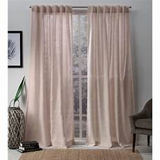 Curtain Images 54 In W X 96 In L Sheer Tab Top Curtain