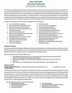 Resume O O Brien Resume May 6 2014