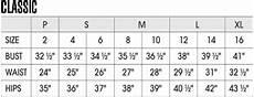 American Rag Size Chart Women S Classic